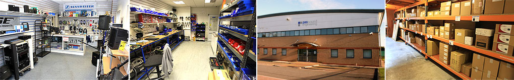 Our Showroom, workshop and warehouse